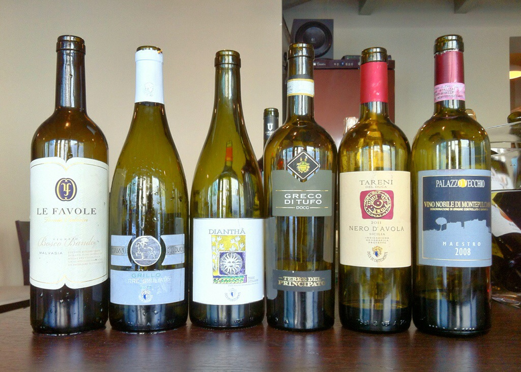 Niște vinuri..
