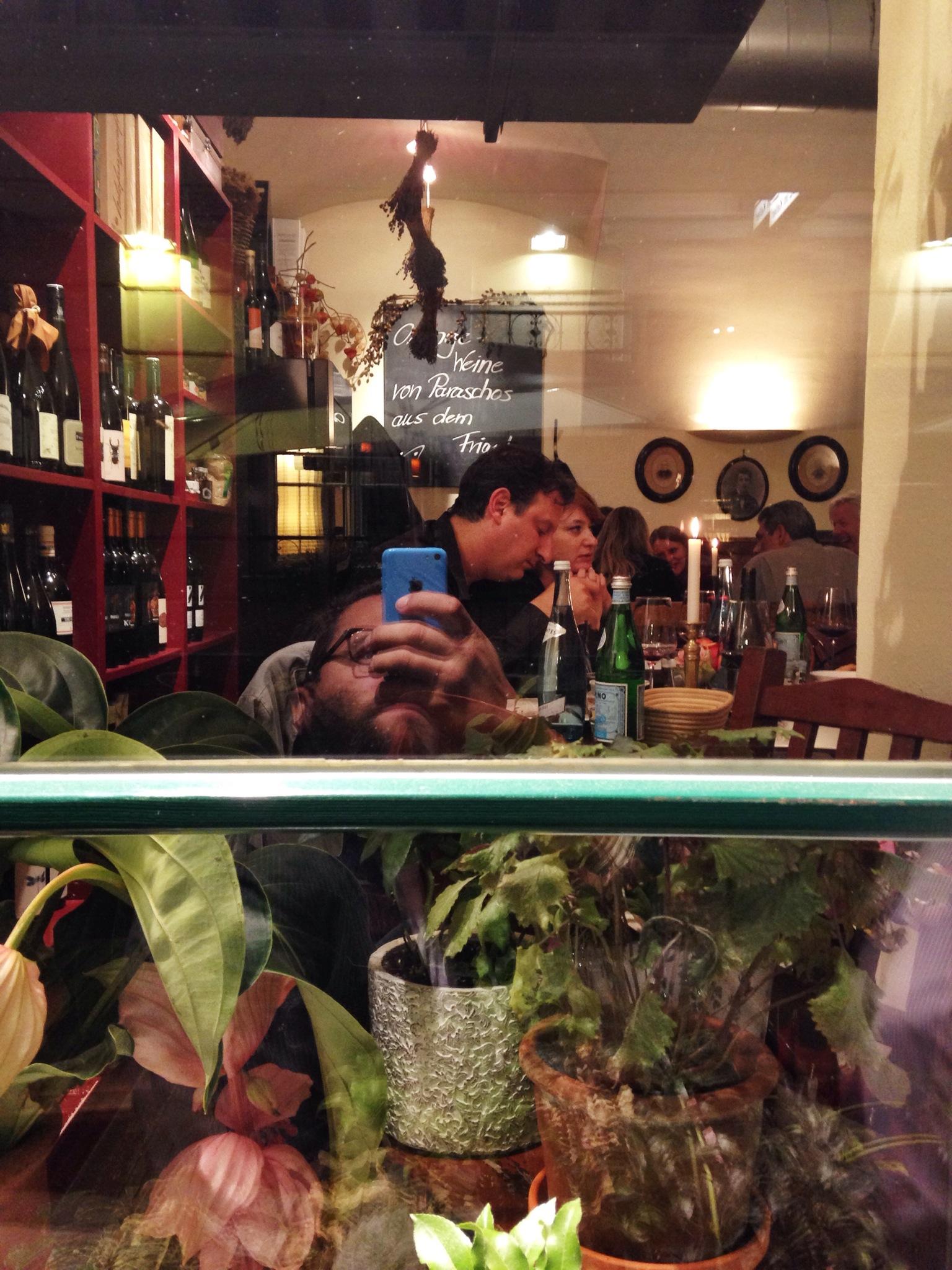 Weinbotschaft restaurant, Viena