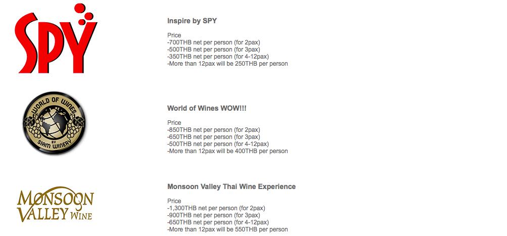 Pachete Siam Winery - vinul din Thailanda, Cosmin Tudoran