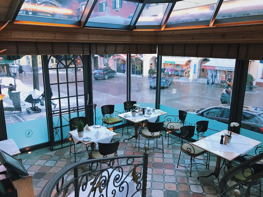 restaurant hotel ZurTenne / Kitzbühel