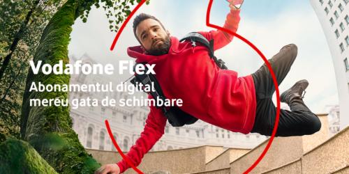 Noul abonament complet digital, configurabil de la Vodafone: Flex